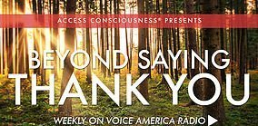 Voice America Radio: Beyound Saying Thank You - header