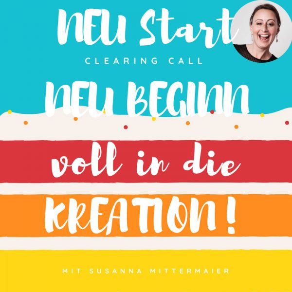 Clearing Call: Neubeginn, voll in die Kreation - Produktbild