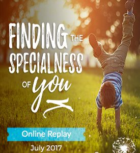 FINDING THE SPECIALNESS OF YOU - RIGHT RICHES FOR YOU ONLINE ADVENTURE - JULY 2017 - productimage