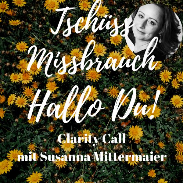 Clarity Call: Tschüss Missbrauch - Hallo Du! - Produktbild