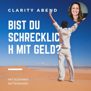Clarity Abend: Bist du schrecklich mit Geld? - Produktbild