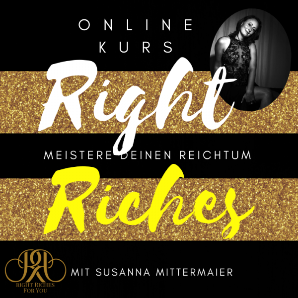 Online Kurs: Right Riches for You - Reichtum und Geld - Produktbild