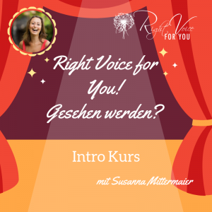 Right Voice for You Intro – Gesehen werden? - Produktbild